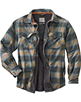 Legendary Whitetails Men's Archer Thermal Lined Shirt Jacket Sky Small