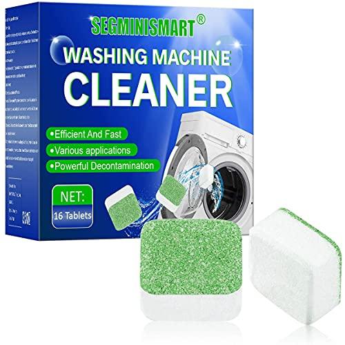 Pulitore per lavatrice,Detergente effervescente per lavatrice,solido per lavatrici,rimozione...