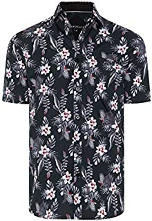 Tarocash Men's Cider Floral Print Shirt Long Sleeve Fit Sizes XS-5XL for Going Out Smart Casual