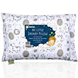 Toddler Pillow With Pillowcase - 13X18 Soft Organic Cotton...