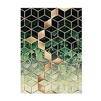 カーペットマット、フロアマット、滑り止めマット、さまざまなスタイル、家族は活力と美しさ、環境にやさし 敷物の幾何学的な北欧のリビングルームのモダンな家の装飾カーペットの寝室の廊下の床のマット滑り止めドアマットピンクリビングルーム敷物160x230p (Color : G, Size : 80x160 cm)