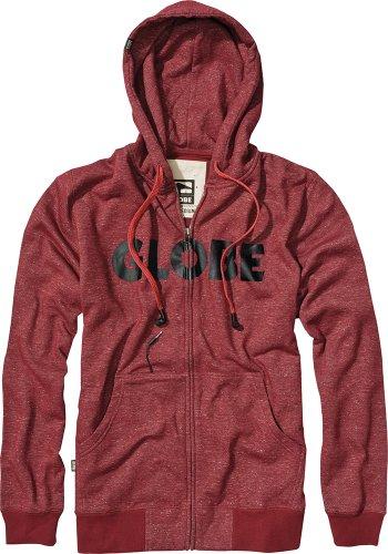 Globe Fearon Uni Hoodie Bartley XL Rouge - Rouge