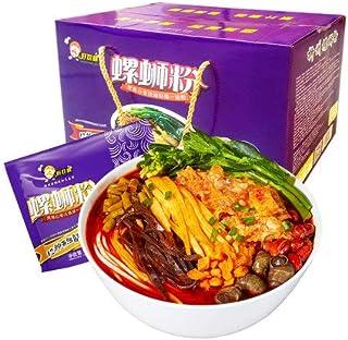 好歓螺螺蛳粉(紫色包装)中華食材 広西省特産 螺蛳粉 広西省名物 速食 米粉 インスタント麺 美味米粉 ルオスーフエン 300g (10 package)