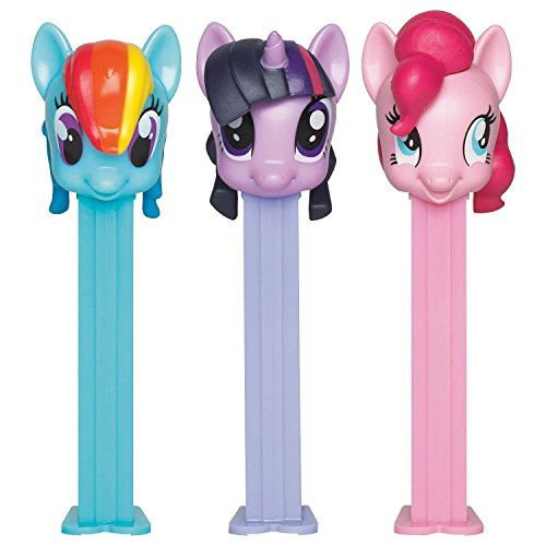Pez BB79365 My Little Pony Pez Dispenser and Candy Set (1 Dispenser)
