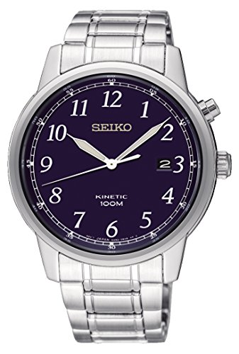 Seiko SKA777P1 Herenhorloge met roestvrijstalen armband
