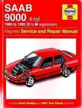 Saab 9000 (4-cyl) (1985 to 1995 C to N registration) (Haynes Service and Repair Manual)