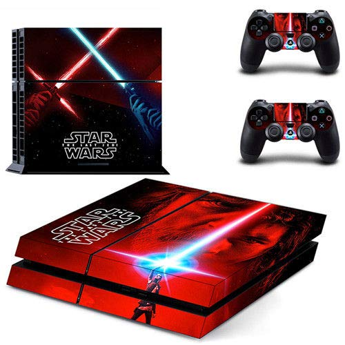 Space War - PS4 Skin Console and 2 Controller, Vinyl Decal Sticker Full Cover Protective by Tullia