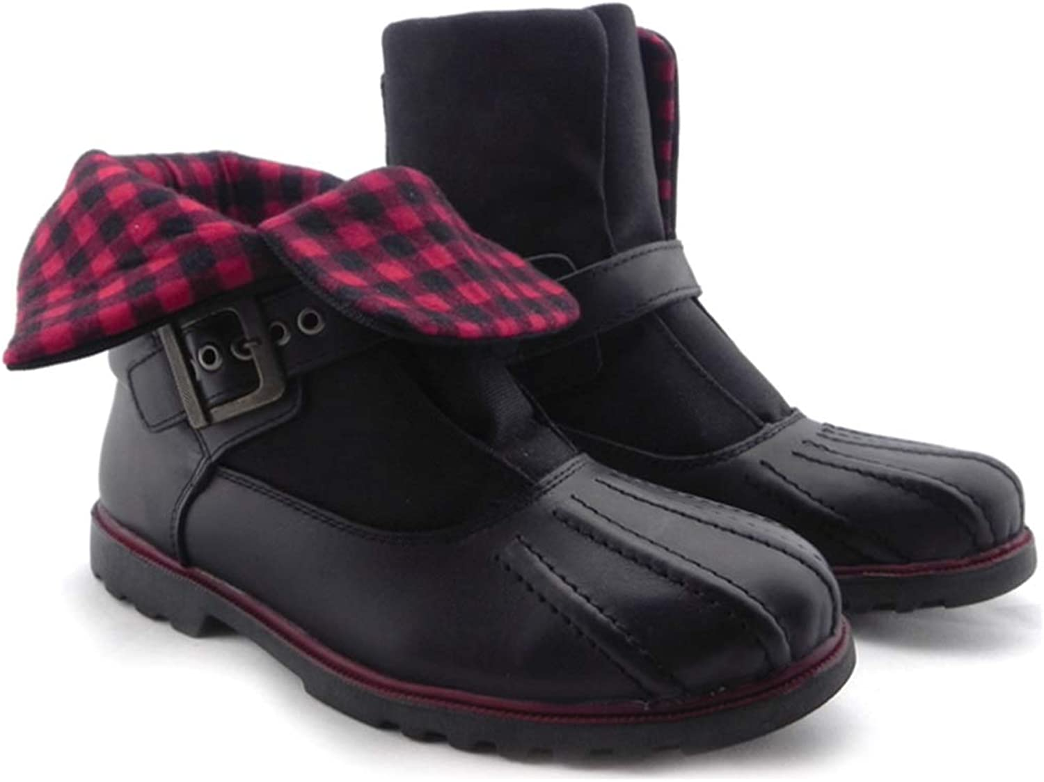 Women's Fashion Duck Boot Black