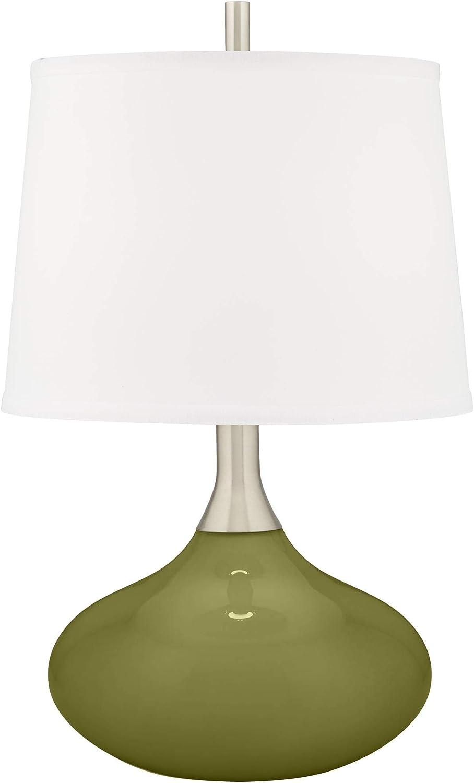 Rural Green Felix Modern Table + Plus Daily bargain sale Color Under blast sales Lamp -