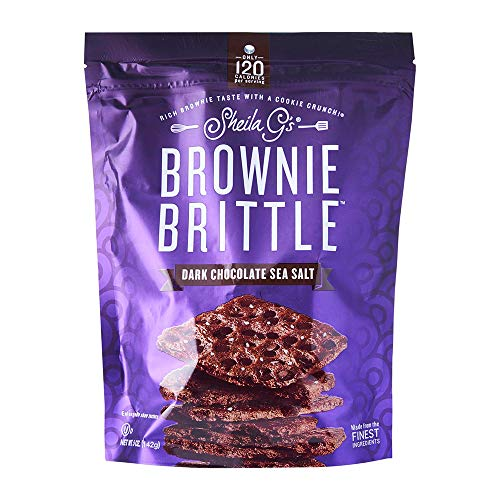 Sheila G's, Brownie Brittle Dark Chocolate, 5 oz
