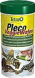 TETRA TetraPleco Wafers - Aliment Complet pour Poisson de Fond herbivore - 250ml