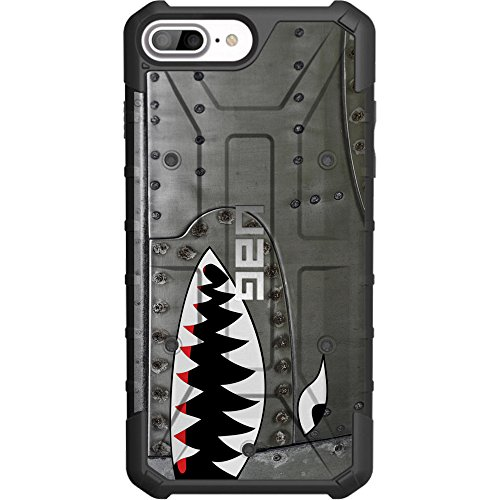 Limited Edition- Customized Designs by Ego Tactical Over a UAG Urban Armor Gear Case for Apple iPhone 8 Plus/7 PLUS/6s Plus/ 6 Plus (Larger 5.5')- A10 Warthog Warhawk