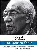 The Modern Fable (Green Integer) by Nishiwaki Junzaburo Hiroaki Sato(2007-02-01)