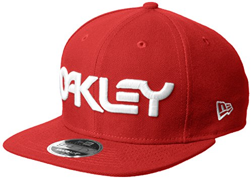Oakley Herren Mark Ii Novelty Snap Back Baseball Cap, red line, Einheitsgröße