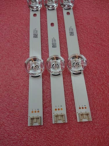 Miwaimao New 3 PCS LED Backlight Strip for LG 32LB 32LF 32LB5610 LGIT A B 6916l-1974A 1975A UOT_A B 6916L-2224A 2223A innotek DRT 3.0 32