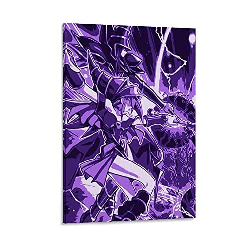 Tanksun Yu-Gioh Poster décoratif sur toile Motif Dark Burning Magic Art 60 x 90 cm