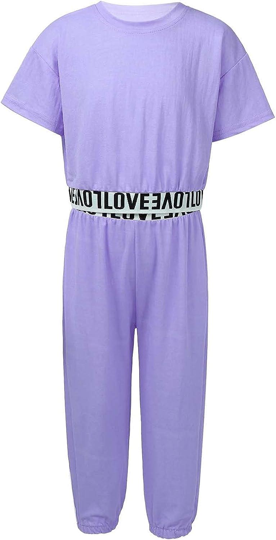 LiiYii Kids Girls Summer Casual Clothing School Discount is also underway Set Wear Superlatite 2PCS Hi