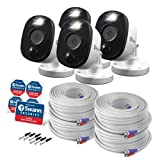 Swann SRPRO-1080MSFBWB4 4 Pack of SWPRO-1080MSFB BNC add on/Replacement Cameras 1080P with Sensor Warning Light, Requires Certain Swann DVR to Work, See Details for Compatibility