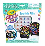 Crayola Glitter Dots, Glitter Art Mosaics, Gift for Kids, 5, 6, 7, 8