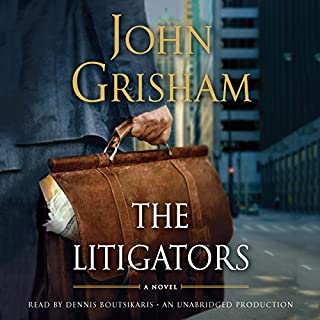 The Litigators audiobook cover art