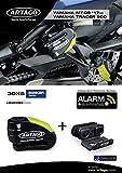 Artago 30X6 Antirrobo Disco Alarma 120db Alta Gama y Soporte Yamaha MT-09 y Tracer 900, homologado Sra y Sold Secure Gold