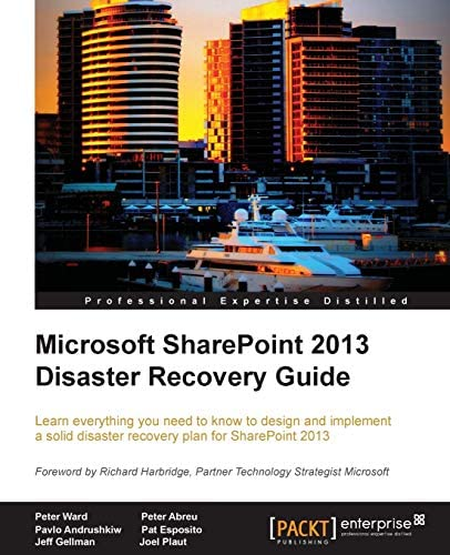 Microsoft SharePoint 2013 Disaster Recovery Guide product image