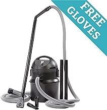 Professional 1400 Watt Premium Pond & Muck Vacuum Cleaner w/Free Pond Cleaning Gloves