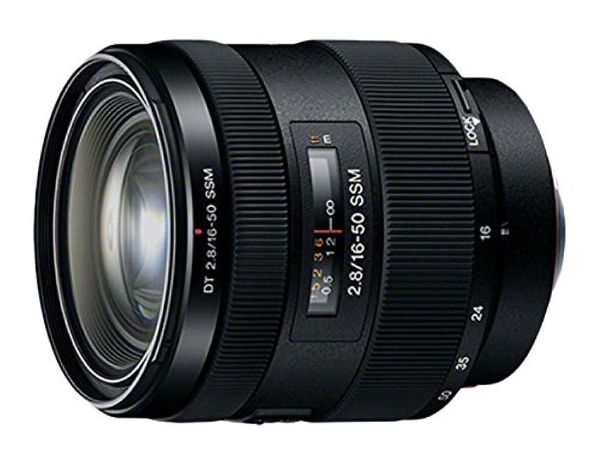 Sony 16-50mm f/2.8 DT Standard Zoom Lens (White Box) - International Version (No Warranty)