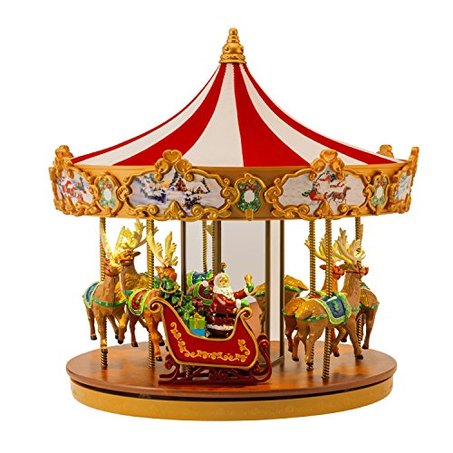 "Mr. Christmas 12"" Very Merry Carousel"