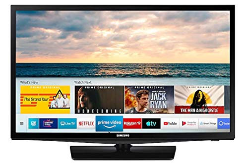 "Samsung HD TV 24N4305 - Smart TV de 24"", HDR, Ultra Clean View, PurColor, Micro Dimming Pro y Color Negro."