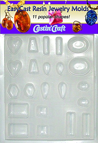 Environmental Technology Castin Craft Jewelry-Casting-molds, Clear