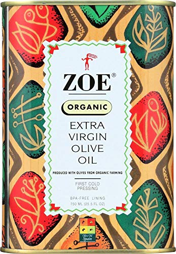 Zoe, Organic Extra Virgin Oil Olive, 25.5 Ounce
