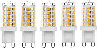 SGJFZD 5W LED Bulb G9 32LED Light Bulb 2835 Lamp 3000K./6000K AC230V 5pcs/lot (Color : Cool White)