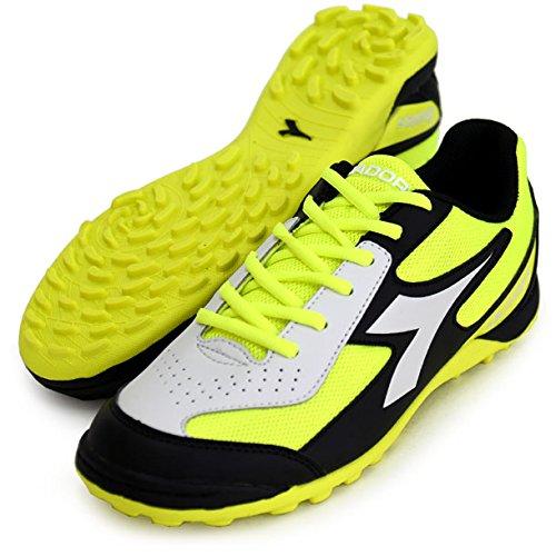 DiadoraQUINTO6 TF - Botas de fútbol multitacos - Fluo Yellow/Black
