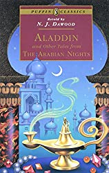 Image: Aladdin and Other Tales from the Arabian Nights (Puffin Classics) | Paperback – Illustrated: 208 pages | by Anonymous (Author), William Harvey (Illustrator), N. J. Dawood (Translator). Publisher: Puffin Books; Revised ed. edition (April 1, 1997)