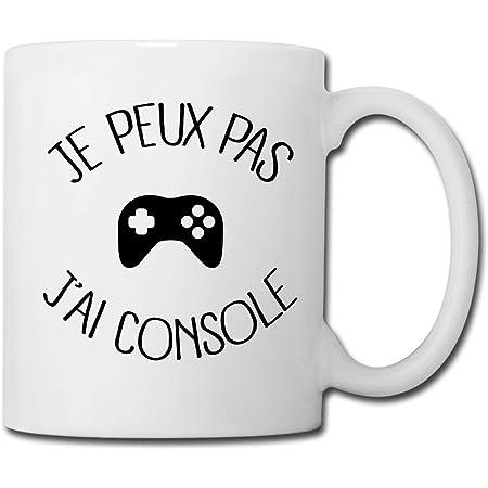 """TASSE  MUG /""""J/'PEUX PAS J/'AI CONSOLE/"""""""