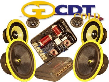 Great Features Of CDT Audio Es-643 Gold 6.5 / 4 3 Way Gold Series Component System
