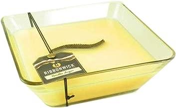 1 X VANILLA SUGAR Decor Glass - Ribbonwick Scented Candle
