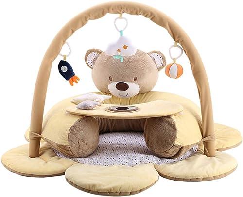 Babyspielmatte und Aktivit Gym, Sicherheit Sitz Baby Anti-DropÃlernen Bank Baby Crawler Crawler Mat Baby Stand Spielzeug
