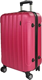 Luggage Suitcase, Small Fresh Password, Waterproof Suitcase, Business Trolley, Boarding Suitcase (Color : Red, Size : 28 inches)