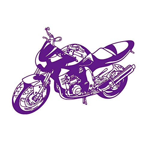 guijiumai Dctal Heavy Motorcycle Sticker Calcomanía para vehículos Classic Punk Posters Vinyl Wall Decals Autobike Decor Mural Autocycle Stic 5 113x160cm
