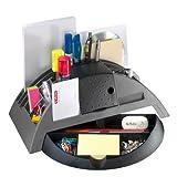 Herlitz Big Butler V - Organizador de papelería para escritorio, color gris