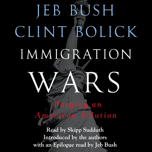 Immigration Wars audiobook cover art