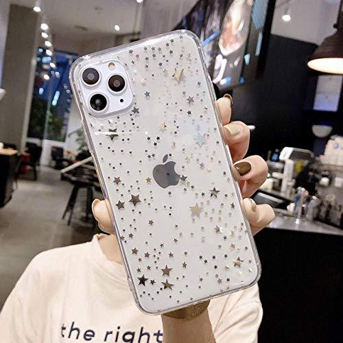 WERTY Étui de téléphone étui de téléphone Portable Transparent galvanisé Souple en TPU-A03_pour iPhone 8 Plus