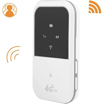 V BESTLIFE Router Inalámbrico LTE WiFi 4G Enrutador Box Portátil Transmisión de Red de Alta Velocidad Carga por USB para Teléfono/Tableta/PC Operación Simple: Amazon.es: Electrónica