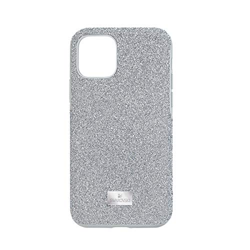 Swarovski Funda para smartphone High, iPhone® 11 Pro, tono plateado