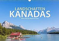 Landschaften Kanadas (Wandkalender 2022 DIN A3 quer): Hanna Wagner zeigt Impressionen aus den kanadischen Provinzen British Columbia, Alberta und Ontario. (Monatskalender, 14 Seiten )