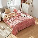 Sofá Decorativo BeThrow anket Colcha de Gasa de algodón Puro Colcha de BeSummer Multicolor 150/230 * 200cm Edredón como Foto, 150x200cm
