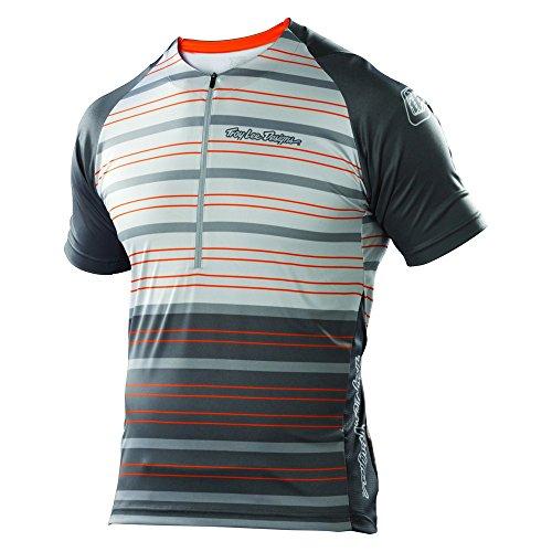 Troy Lee Designs Ace - Maillot de Ciclismo para Hombre, Color Naranja,...