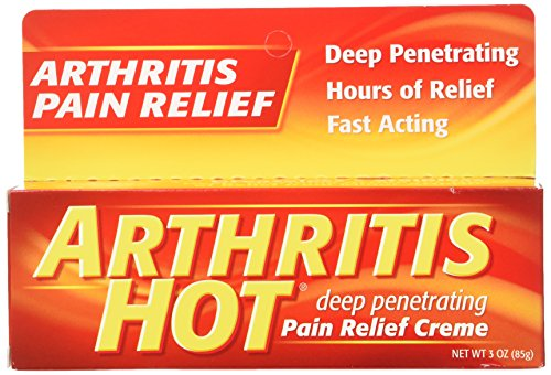 Arthritis Hot Pain Relief Creme 18 Ounce (Pack of 6)
